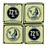 Set Of 4 Savon De Marseille Soap 4 X 3.5oz Olive Oil Made In France Marius Fabre