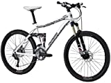 Mongoose Salvo Elite Dual Suspension Mountain Bike – 26-Inch Wheels (Medium)