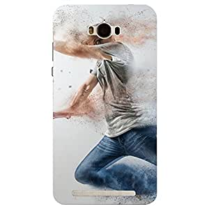 Asus Zenfone Max Dance in the air Printed Back Cover