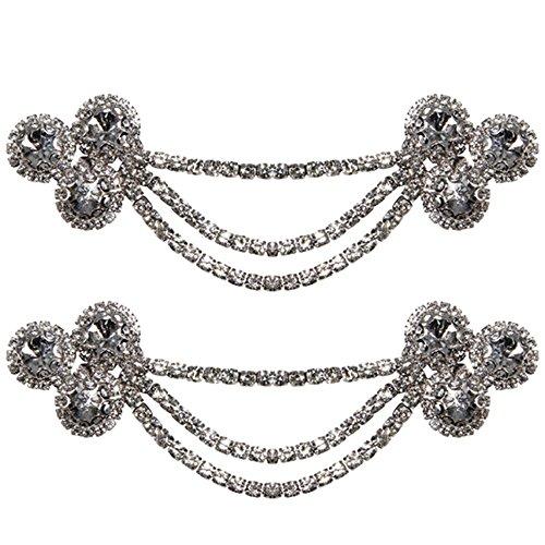 Froufrouz - Donna Clip Decorative Per Scarpe Gioielli, Abbellimenti, Spille, Accessori Per Scarpe Frida - 1 Coppia