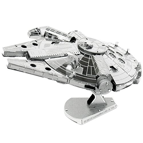 3D Star Wars Metal Earth Millennium Falcon Model Hobby Fun Toy Activity Kit - 1