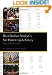 Qualitative Analysis for Planning & P...