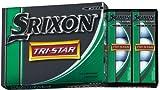 DUNLOP(ダンロップ) SRIXON トライスター ゴルフボール 1ダース(12個入り)   ホワイト