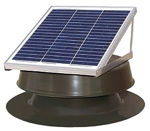 Natural Light Solar Attic Fan 36 Watt Bronze Amazon Com