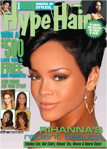 A haircare and beauty magazine for African American women including the most