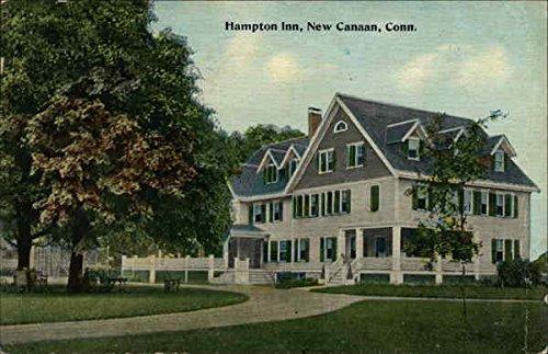 hampton-inn-new-canaan-connecticut-original-vintage-postcard