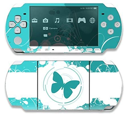Butterfly Effects Decorative Protector Skin Decal Sticker for Sony Playstation PSP 1000 Portable System