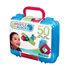 Bristle block 50 piece Basic builder case with handle