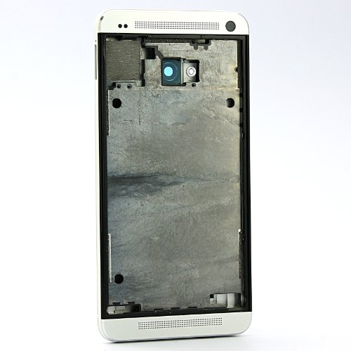 Original Housing Faceplate Lcd Holder Bezel+Back Cover For Htc One M7
