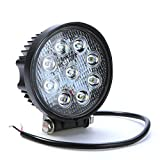 #6: AllExtreme Flood Beam Auxiliary LED Lamp for Cars and Bikes (27W)