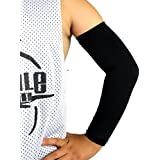 Kids Youth Junior Size Elixir Sports UV Protection Arm Sleeve Cover Sports Golf, 1 Pair