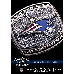 NFL America's Game: 2001 PATRIOTS (Super Bowl XXXVI)