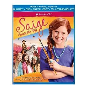 An American Girl: Saige Paints the Sky [Blu-ray]