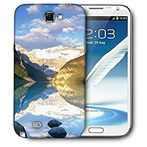 Snoogg Clean Water Image Printed Protective Phone Back Case Cover For Samsung Galaxy Note 2 / Note II