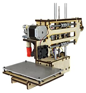 "Printrbot Assembled Simple 2014 3D Printer, PLA Filament, 1.75mm Ubis Hot End, 4"" x 4"" x 4"" Build Volume from Printrbot"