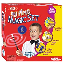 [Best price] Novelty & Gag Toys - POOF-Slinky 0C486BL Ideal My First Magic Set with Instructional DVD - toys-games