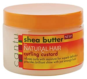 Cantu Shea Butter For Natural Hair Curling Custard Review