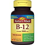 Nature Made Vitamin B-12, 1000 mcg, Tablets, 160 tablets