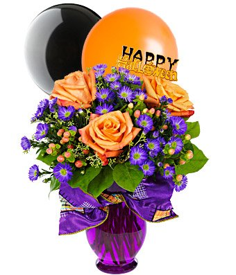 Flowers – Very Happy Halloween Bouquet