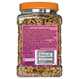 Purina Friskies Party Mix Kahuna Crunch, Chicken, Salmon & Crab Flavors, 20-Ounce Canister, Pack of 1