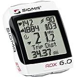 Sigma Sport ROX 6.0 Cyclocomputer, White