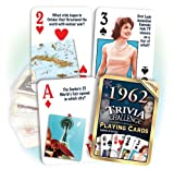 Flickback 1962 Trivia Playing Cards: Your Fabulous Year - Nostalgic 50th Wedding Anniversary or 50th Birthday Gift