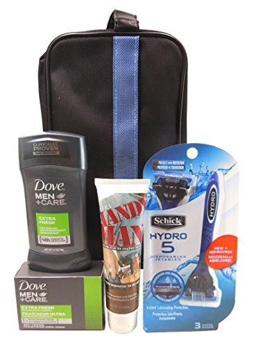 Men s Premium Skincare 5pc.Gift Set For Men,Schick Hydro 5 Disposable Razor 3 Co…