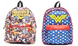 Dc Comics Wonder Woman Reversible Backpack, Licensed