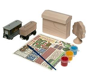 Thomas Wooden Railway Paint & Play Depot