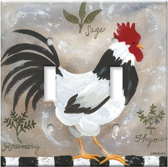 Images for Jennifers Rooster Switch Plate - Outlet Cover