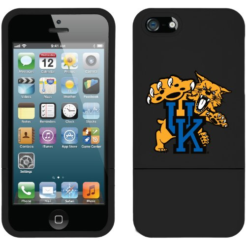 Best Price University of Kentucky Mascot design on a Black iPhone 5s / 5 Slider Case by Coveroo