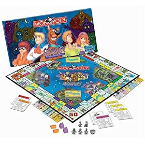 Amazon.com: Scooby Doo Monopoly, Fright Fest Edition: Toys