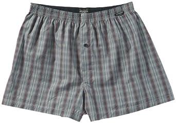 Schiesser - Pantalon de Pyjama - Homme - Gris (200-Grau) - FR : 50 (Taille fabricant : S)