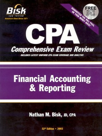 CPA Comprehensive Exam Review, 2003: Financial Accounting & Reporting (32nd Edition)