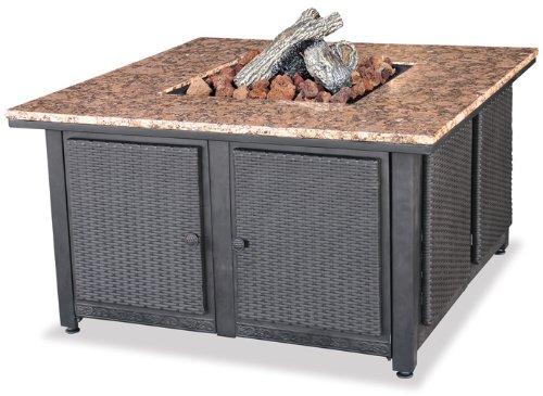 Endless-Summer-GAD1200B-LP-Gas-Outdoor-Firebowl-with-Granite-Mantel
