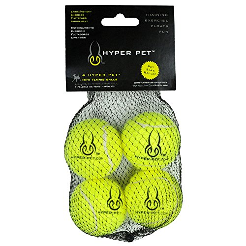 Hyper Pet Tennis Balls (Mini), Set of 4 (Mini Tennis Balls compare prices)