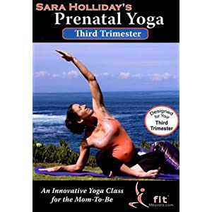 Sara holliday 39 s prenatal yoga third trimester dvd amazon for Gardening 3rd trimester
