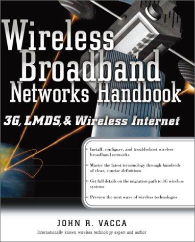Wireless Broadband Networks Handbook