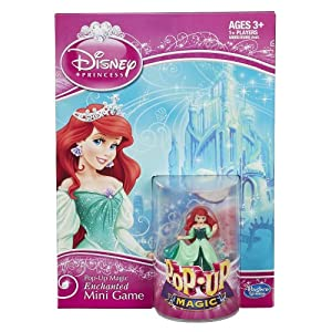Disney Pop-Up Magic Enchanted Mini Game Featuring Ariel