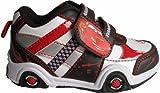 Baskets noir/blanc/rouge