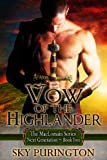 img - for Vow of the Highlander (The MacLomain Series: Next Generation, Book 2) book / textbook / text book