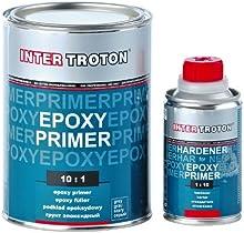 Inter Troton - Base de epóxido, 2K 10:1 - 1,0 litros, incluye endurecedor