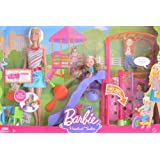 BARBIE I Can Be... PRESCHOOL TEACHER PLAYSET w BARBIE Doll, KELLY Doll, PLAYGROUND SLIDE & SWING & More! (2008... at Sears.com