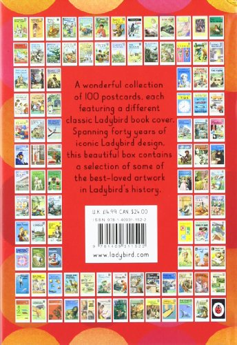 Classic Book Cover Postcards ~ Postcards from ladybird classic covers in