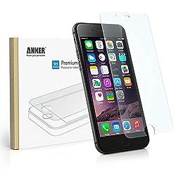 Anker® iPhone 6 4.7インチ用 強化ガラス液晶保護フィルム 3D Touch対応 9H硬度の液晶保護 & 96%の透過性 【18ヶ月保証】