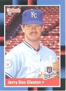 1988 Donruss #547 Jerry Don Gleaton - Kansas City Royals (Baseball Cards)