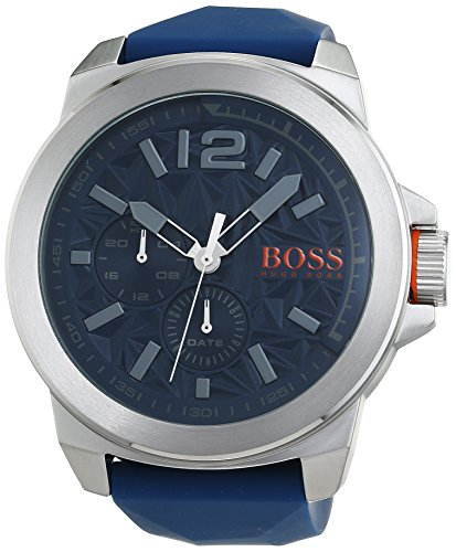 Boss Orange Men's Watch New York Multieye Analogue Quartz Silicone 1513348