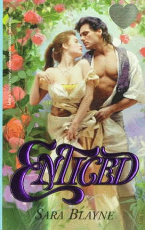 Enticed (Zebra Splendor Historical Romances), Sara Blayne
