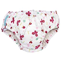 Charlie Banana Reusable Swim Diaper & Training Pants - Small (Butterfly)