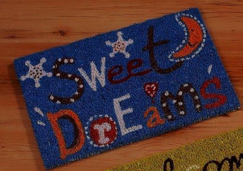 Kinder Kokos Fußmatte Motiv Sweet